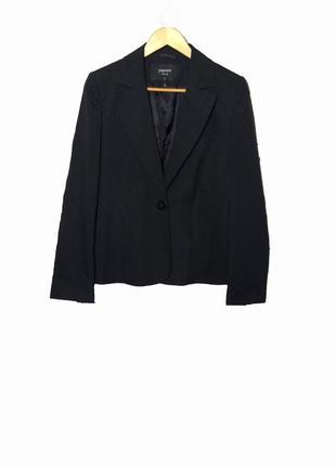 Стильный пиджак в мелкую полоску uk14