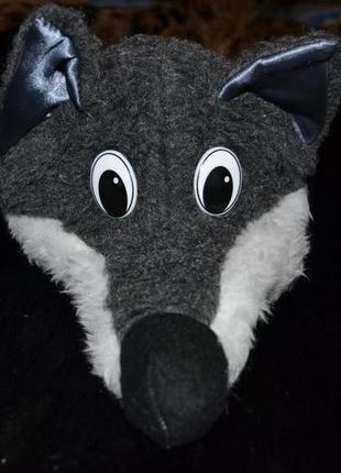 Красивый новогодний костюм волка для мальчика 3-5 лет