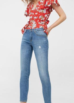 Шикарные джинсы push up от mango, 38р, испания, оригинал