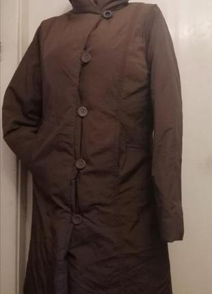Оригинальное женское зимнее пальто colins.