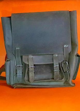 Кожа. ручная работа. кожаный рюкзак ручной работы.
