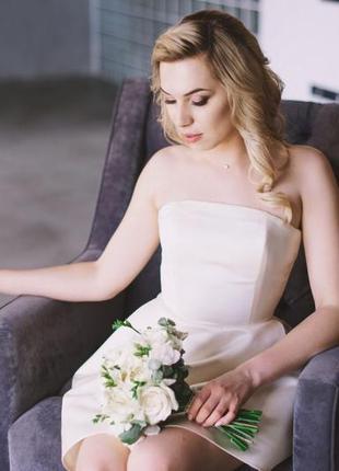 Коктейльное платье /свадебное /вечернее
