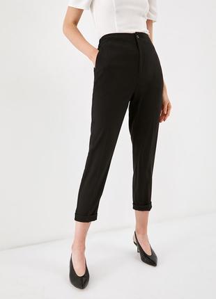 Классические брюки укороченные большого размера