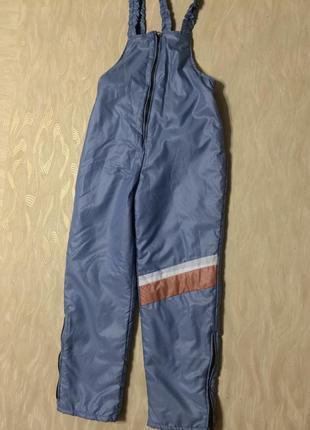 Полукомбинезон лыжный  , размер 48-50, на рост 165-170см