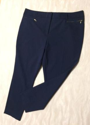 Классические брюки с плотной ткани papaya, р.18-20