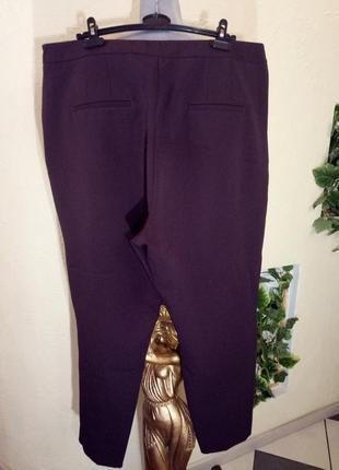 Плотные,зауженные к низу брюки очень большой размер2