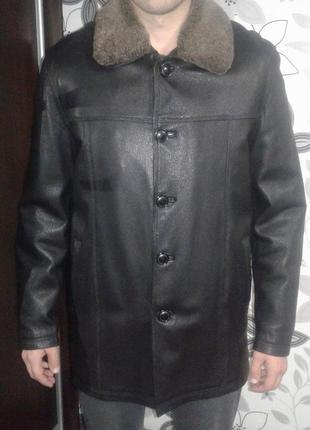 Дубленка мужская, куртка