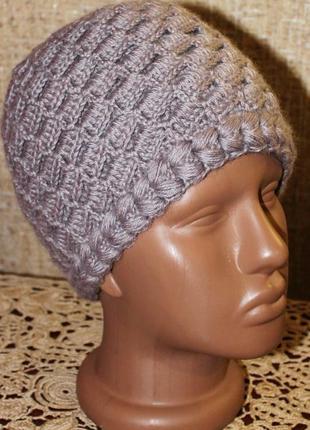 Теплая двойная шапочка (на моей страничку больше головных уборов)