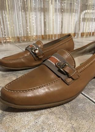 Туфлі лофери шкіра