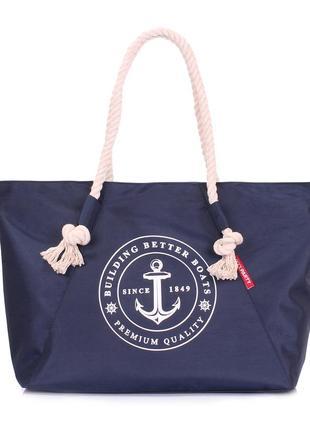 Пляжная,повседневная женская сумка в морском дизайне.