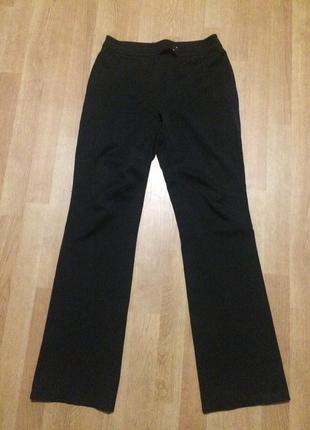 Классические чёрные штаны брюки