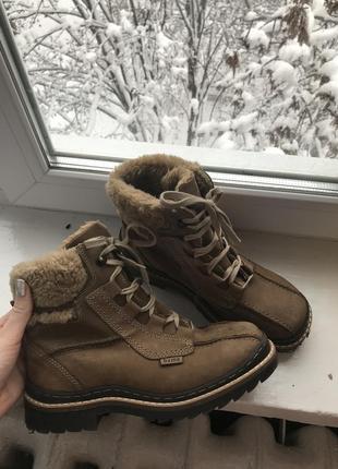 Ботинки зимние на шнурках с мехом