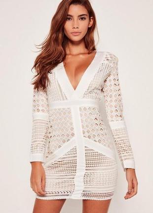 Особенное белое платье премиум класса