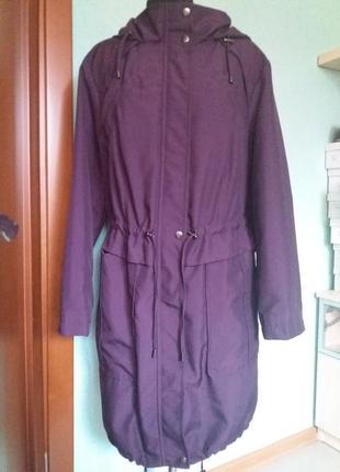 Куртка удлененная весна-осень 52рр marks spenser