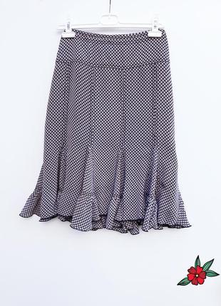 Нарядная юбка натуральная юбка миди 100% вискоза