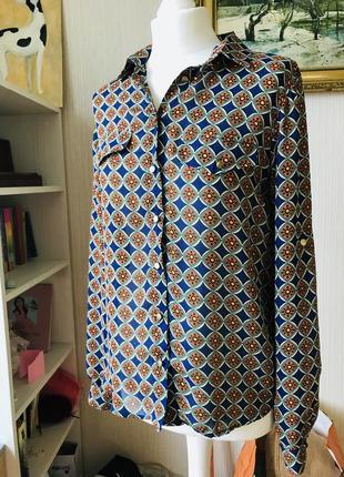 Распродажа! блуза новая с биркой в стиле ретро размер м
