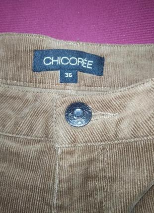 Зимние шорты с высокой посадкой рижие коричневые