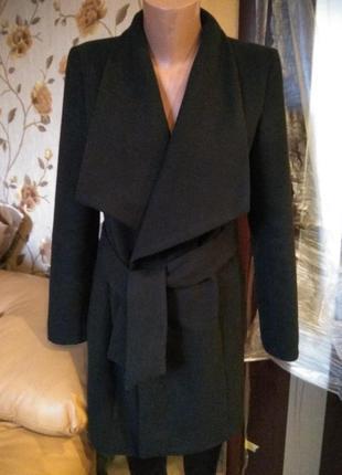 Модное стильное пальто халат