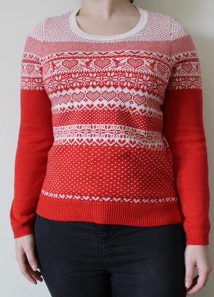 Очаровательный новогодний свитер tu
