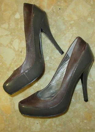 Новые туфли аvant-primiere натуральная кожа