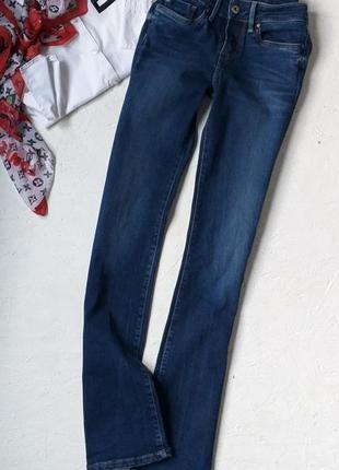 Крутые джинсы с потёртостями клёш  оригинал от pepe jeans london