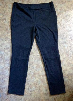 Plus size casual pants брюки скинни стрейч