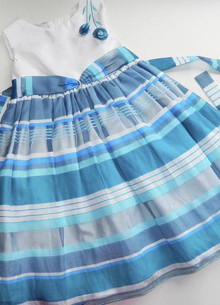 Платье в полоску1
