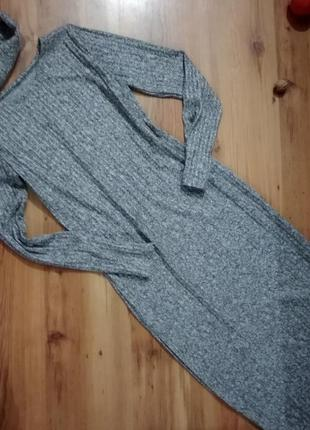 Платье трикотаж резинка люрекс