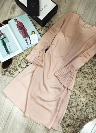 Шикарное платье миди дорогого бренда