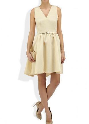 Нарядное блестящее платье с люрексом  💫