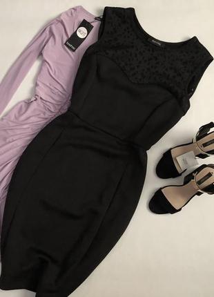 Элегантное комбинированное платье made in italy