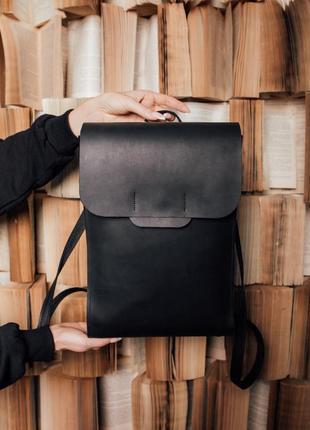 Рюкзак женский из кожи, рюкзак ручной работы, шкіряний рюкзак, из кожи крейзи хорс