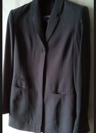 Шикарный пиджак  блейзер шёлк шерсть cerruti 1881