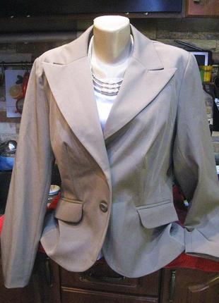 Элегантный английский жакет пиджак обхват груди 106+