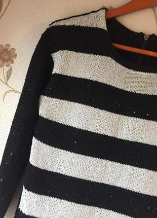 Мерцающий свитер от zara