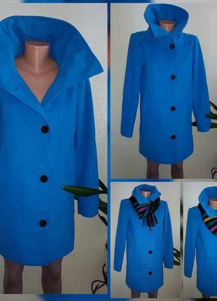 Шикарное брендовое пальто с шерстью ламы м размер vero moda
