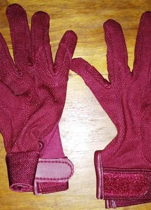 Женские спортивные, стрейчевые перчатки