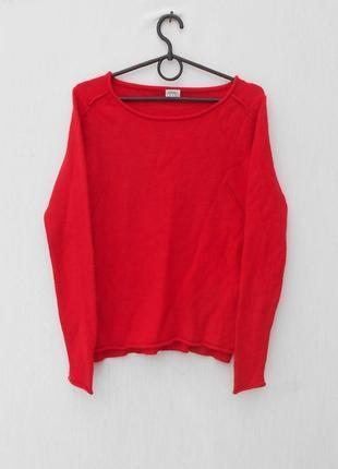 Осенний зимний шерстяной свитер свитшот с длинным рукавом