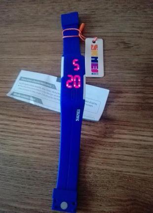 Led часы браслет  skmei 10993 фото