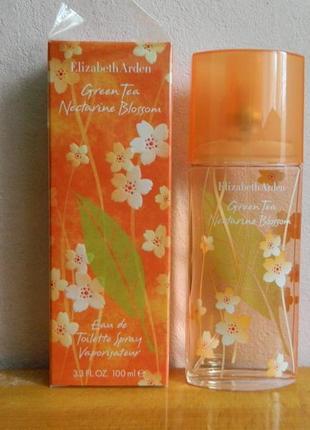 Elizabeth arden green tea nectarine blossom туалетная вода
