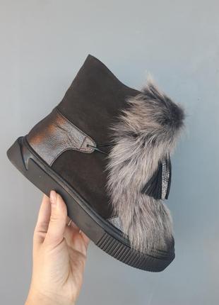 Распродажа!!!! зимние натуральные ботинки