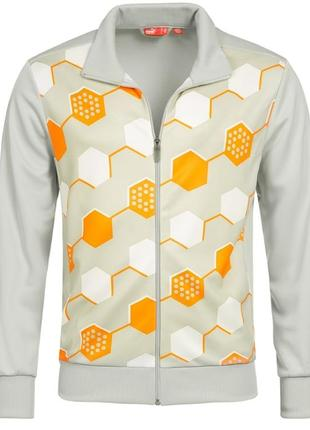 Оригинал мужская спортивная куртка олимпийка puma golf graphic. размер s