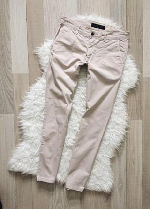 Бежевые брюки с италии