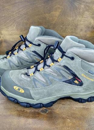 Ботинки salomon extend mid gtx k gore-tex ( 35.5 размер )