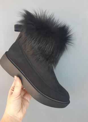 Распродажа!!! зимние натуральные ботинки lottini