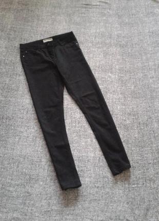 Стильные скинни брюки джинсы с высокой посадкой/размер м/10 от papaya