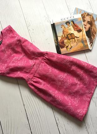 Гобеленовое платье warehouse