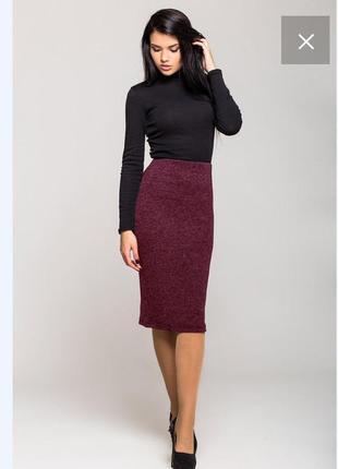 Новая теплая трикотажная юбка с ангоры софт, цвета, размеры.