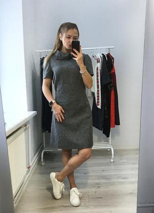 Платье 100% wool hobbs