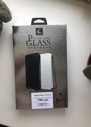 Чехол магнитный на iphone 7 plus 8 plus